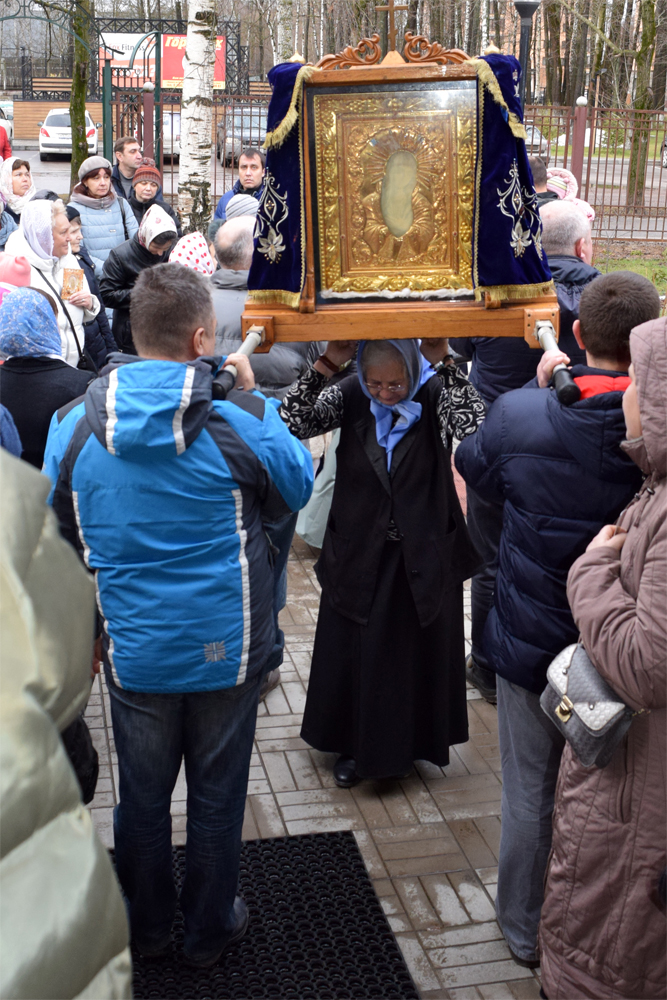 Крестный ход 24 декабря 2017