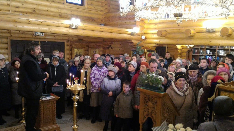Обращение сопровождающего икону Юрия Шишкова